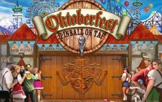 Oktoberfest flipperin taustakuva